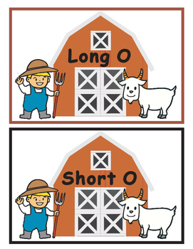 Long O and Short O Sort--Bring a Goat back to the Barn