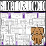 Long O and Short O Worksheets: Cut and Paste Sorts, Cloze, Read and Draw, Etc!