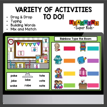 Long o CVCe Centers and Activities