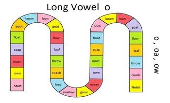 Long O Sound (o, oa, ow)