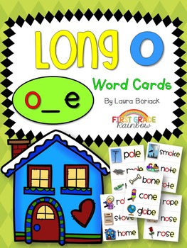 Long O o_e Word Cards