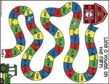 Long O (o_e, oa, ow) Activities and Games