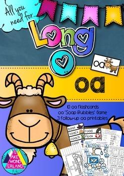 Long O - oa