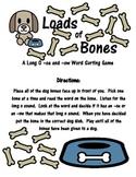 Long O -oa and -ow Word Sort: Loads of Bones