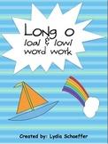 Long O - /oa/ & /ow/ word work