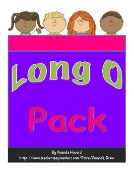 Long O (ow and oa) Leveled Pack