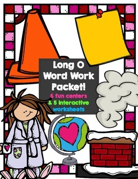 Long O (vce) Word Work Centers
