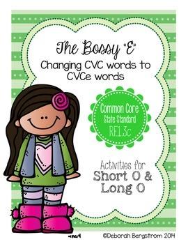 Long O with Bossy E Unit - CVCe Spelling Pattern