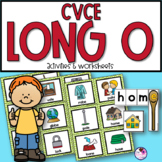 CVCE Long O Unit With Sorting, Worksheets, Word Building
