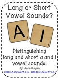 Long Or Short? A and I Vowel Sort