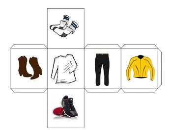 Long-Range Plan Le shopping Vêtements Adjectifs Possessive De