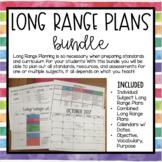 Long Range Planning Bundle