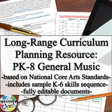 Long-Range Planning: PK-8 General Music Curriculum (with K-6 skills progression)