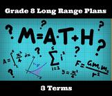 Long Range Plans: Grade 8 Math