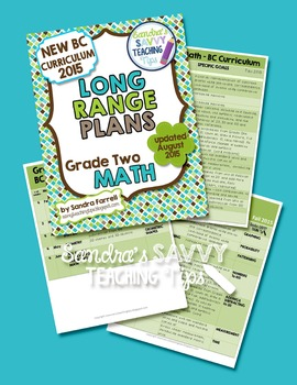 Long Range Plans - Grade Two Math
