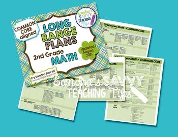 Long Range Plans - Second Grade Math