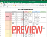 Long Range Year Plan Template