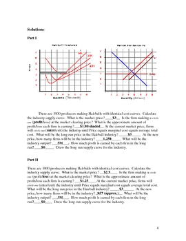 Long Run Supply Curves