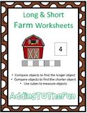 Long & Short Farm Measurement Worksheets