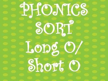 Long/Short O Sound Sort