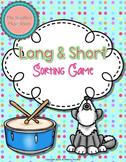 Long Short Sorting {Worksheet/Center for Practice or Assessment}