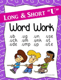 "Long & Short ""U"" Word Work (Phonics - Word Families)"