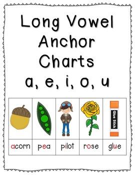 Long & Short Vowel Anchor Charts & Practice Mega Bundle {C