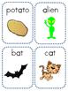Long & Short Vowel Picture Flashcards