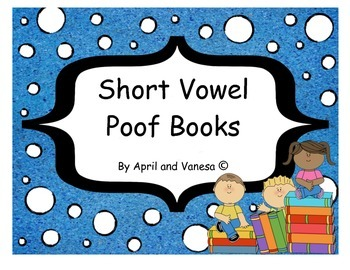 Long & Short Vowel Poof Books - Set of 10 Different Stories