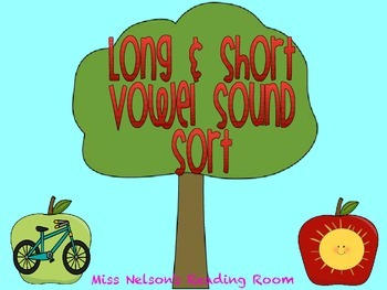 Long & Short Vowel Sort Activity