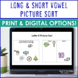 Long & Short Vowel Sort Literacy Center