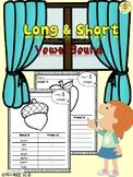 Long & Short Vowel Sound