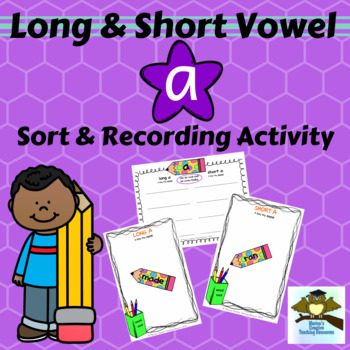 Long & Short Vowel Sound ~ A {sound sort and recording activity}