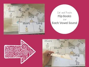 Long & Short Vowel Sounds No Prep Activities