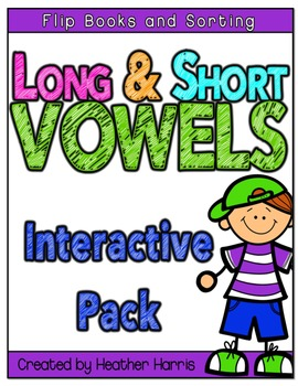 Interactive Notebook and Worksheets for Vowels