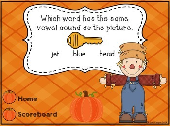 Long & Short Vowels- Interactive Powerpoint Game
