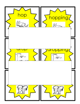 Long Short Vowels Picture Word Cards Sorting Mats with Non-Examples