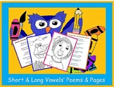 Long & Short Vowels' Poems & Pages