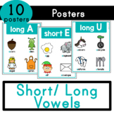 Long/ Short Vowels - Posters and Word Wall Cards