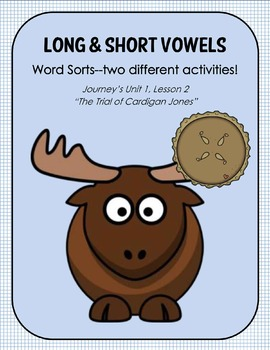 """Long & Short Vowels--TWO Word Sort Activities for """"The Tri"""