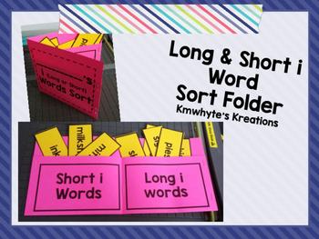 Long & Short i Word Sort Folder