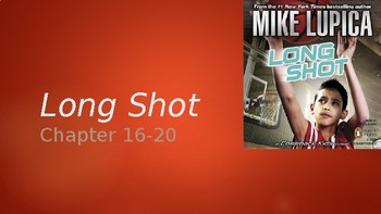 Long Shot Chapters 16-20 . Finished book study-Theme-Central message