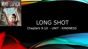 Long Shot- Chapters 9-10 -LIT CAMP