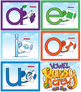 Long Sound Vowel Buddy Combo Pack (Cards and Posters)