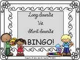 Long Sounds vs. Short Sounds BINGO for the Elem. Music Classroom