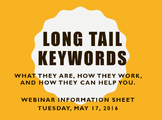Long Tail Keyword Page for Webinar