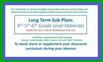 Long Term Absence Plans and Activities