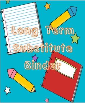 Long Term Leave Sub Template (Fully Editable)