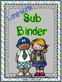 Long-Term Sub Binder - Editable