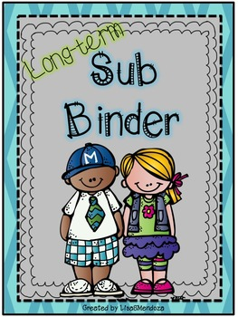 Long-Term Sub Binder Aqua - Editable